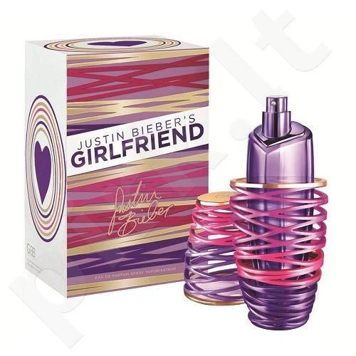Justin Bieber Girlfriend, kvapusis vanduo (EDP) moterims, 100 ml