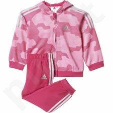 Sportinis kostiumas  Adidas I Style Shinny Full Zipp Hoodie Junior AJ7361
