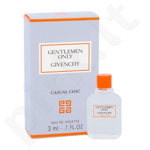 Givenchy Gentlemen Only Casual Chic, EDT vyrams, 3ml