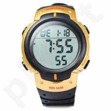Vyriškas laikrodis SKMEI DG1068BK Golden