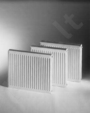 Plieninis radiatorius DeLonghi 22K-5-0500, su šoniniu pajungimu ( 1/2 vid, sr,)