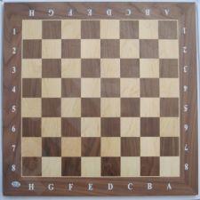 Šachmatų lenta Walnut 55x550x13mm su žymėmis