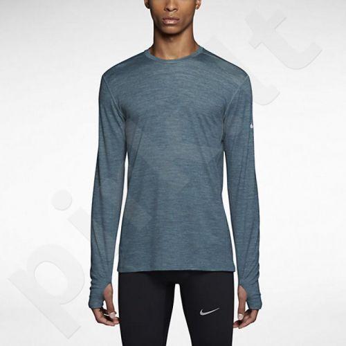 Marškinėliai bėgimui  Nike DRI-FIT Wool Crew M 553678-017