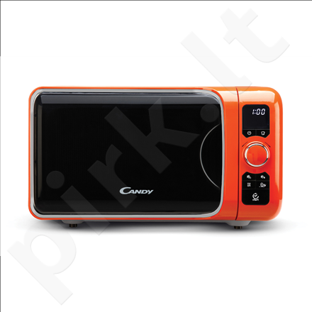 Candy EGO-G25DCO Microwave+Grill, Capacity 25L, Microwave 900W, Grill 1000W, 6 programs, Orange
