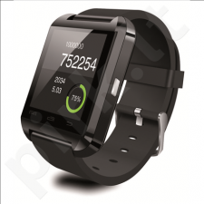 KSIX Smart watch with notifications, phone calls, anti lost for smartphone black