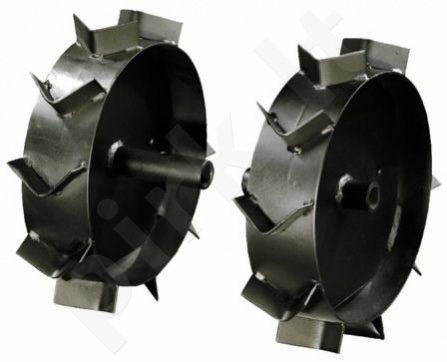 Ratai kultivatoriui T380 metaliniai