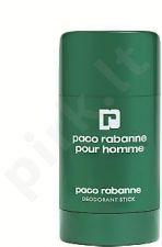 Paco Rabanne Pour Homme, 75ml, pieštukinis dezodorantas vyrams