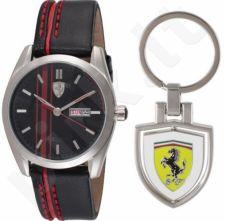 SCUDERIA FERRARI D50 laikrodžio ir raktų pakabuko rinkinys  870005