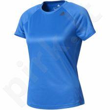 Marškinėliai treniruotėms Adidas Designed 2 Move Tee Lose W BK2710