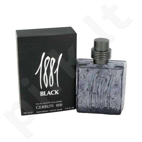 Nino Cerruti Cerruti 1881 Black, tualetinis vanduo vyrams, 100ml
