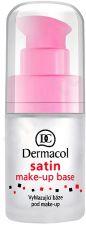Dermacol Satin Make-Up pagrindas, 15ml, kosmetika moterims