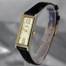 Moteriškas laikrodis RUBICON RN10B89 LG GD BK