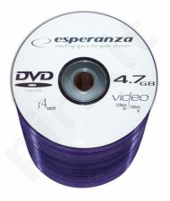 DVD-RW ESPERANZA [ spindle 100 | 4.7GB | 4x ]