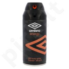 UMBRO Energy, dezodorantas vyrams, 150ml