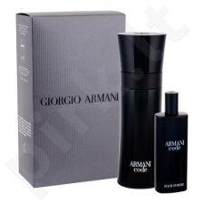 Giorgio Armani Black Code rinkinys vyrams, (EDT 75 ml + EDT 15 ml)