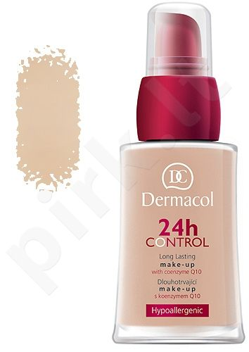 Dermacol 24h Control Make-Up 02, kreminė pudra 30ml, kosmetika moterims