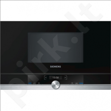 Siemens BF634LGS1 Built-in microwave/900W/7 Programs/Capacity 21L/TFT Display/TouchControl/CookControl/Black
