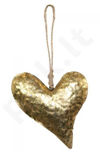 Dekoratyvinė metalinė detalė Širdis 96318