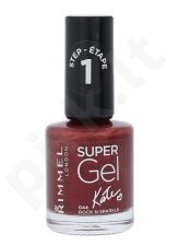 Rimmel London Super nagų lakas, kosmetika moterims, 12ml, (044 Rock N Sparkle)