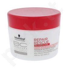 Schwarzkopf BC Bonacure Repair Rescue Reversilane Treatment, atkuriamoji kaukė plaukams, kosmetika moterims, 200ml