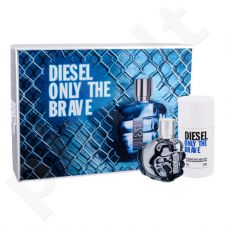 Diesel Only the Brave rinkinys vyrams, (EDT 35 ml + dezodorantas 75 ml)