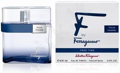 Salvatore Ferragamo F by Ferragamo Free Time, tualetinis vanduo (EDT) vyrams, 100 ml