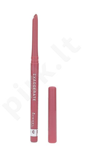 Rimmel London Exaggerate Full Colour lūpų pieštukas, kosmetika moterims, 0,25g, (063 Eastend Snob)
