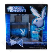 Playboy Super Playboy rinkinys vyrams, (EDT 100 ml + dezodorantas 150 ml)