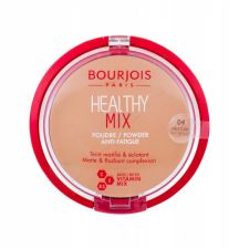 BOURJOIS Paris Healthy Mix, Anti-Fatigue, kompaktinė pudra moterims, 11g, (04 Light Bronze)