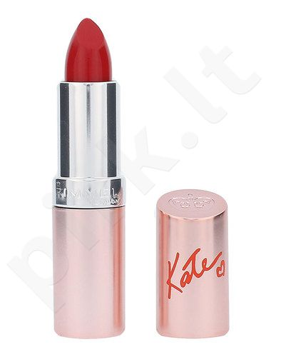 Rimmel London Lasting Finish By Kate 15th Anniversary lūpdažis, kosmetika moterims, 4g, (51 Muse Red)