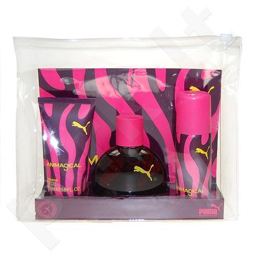 Puma (EDT 40 ml + 50 ml dušo želė + 50 ml Deodorant) Animagical, rinkinys moterims