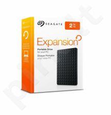 Išorinis diskas Seagate Expansion, 2.5'', 2TB, USB 3.0, Juodas