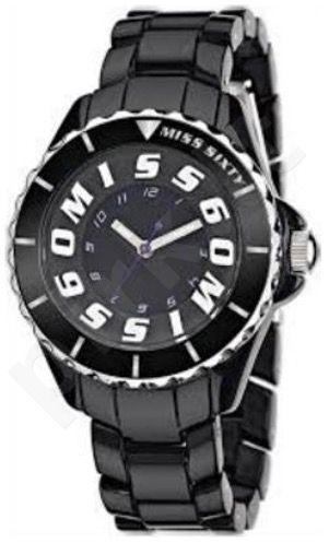Moteriškas laikrodis MISS SIXTY -Black SHU003