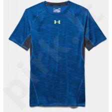 Marškinėliai kompresiniai Under Armour HeatGear® Armour Printed Short Sleeve Compression M 1257477-907