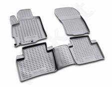 Guminiai kilimėliai 3D MITSUBISHI Outlander XL 2005-2010, 4 pcs. /L48039G /gray