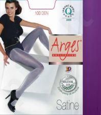 Vienspalvės (storos) pėdkelnės su satininiu blizgesiu SATINE 100 denų storio  (violetinės spalvos)