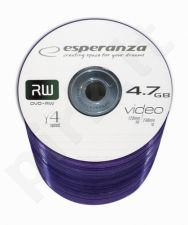 DVD+RW ESPERANZA [ spindle 100 | 4.7GB | 4x ]