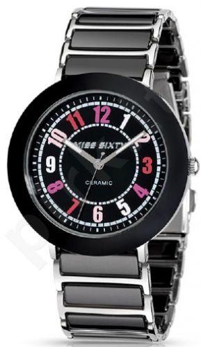 Moteriškas laikrodis MISS SIXTY -Black SIR005
