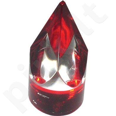 Piramidės formos markeris ruletei raudonas