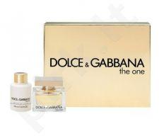 Dolce & Gabbana The One rinkinys moterims, (EDP 50ml + 100ml kūno losjonas)