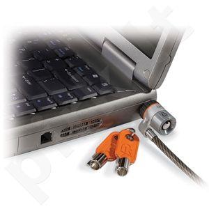 Apsauginis troselis Kensington, nešiojamam kompiuteriui, su raktu