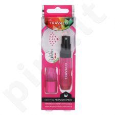 Travalo Ice, daugkartinis flakonėlis moterims ir vyrams, 5ml, (Hot Pink)