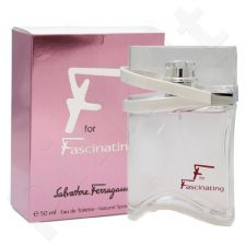 Salvatore Ferragamo F for Fascinating, tualetinis vanduo (EDT) moterims, 90 ml (Testeris)