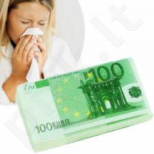Nosinaitės 100 eurų