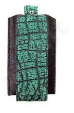 15-RG universalus dėklas 1 Ryg tamsiai žalias croco