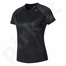 Marškinėliai treniruotėms Adidas Designed 2 Move Tee Lose W BK2708