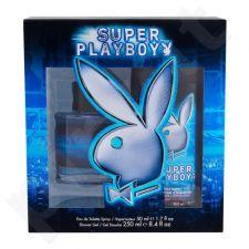 Playboy Super Playboy rinkinys vyrams, (EDT 50 ml + dušo želė 250 ml) , (testeris)