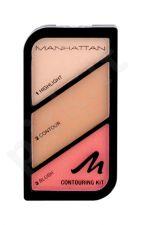 Manhattan Contouring Kit, kompaktinė pudra moterims, 18,5g, (002 Summer In Barbados)