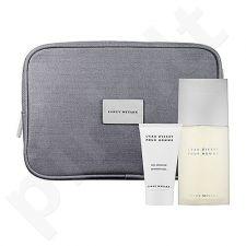 Issey Miyake (EDT 125 ml + 75 ml dušo želė + kosmetikos krepšys) L´Eau D´Issey, rinkinys vyrams