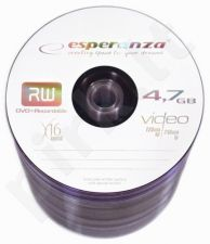 DVD+R ESPERANZA [ spindle 100 | 4.7GB | 16x ]